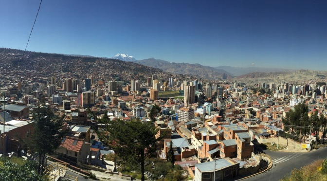 La Paz, tant d'agitation à cette altitude…